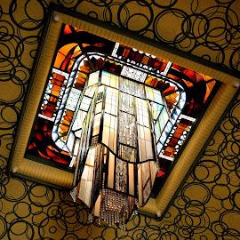 Art deco chandelier by Heather Aplin - Buildings & Architecture Architectural Detail (  )