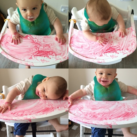 edible finger paint
