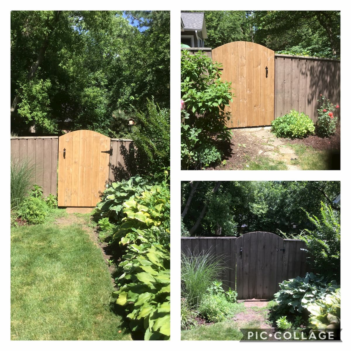 Mr. Handyman fence repair