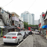 strange parking spots in Seoul in Seoul, Seoul Special City, South Korea