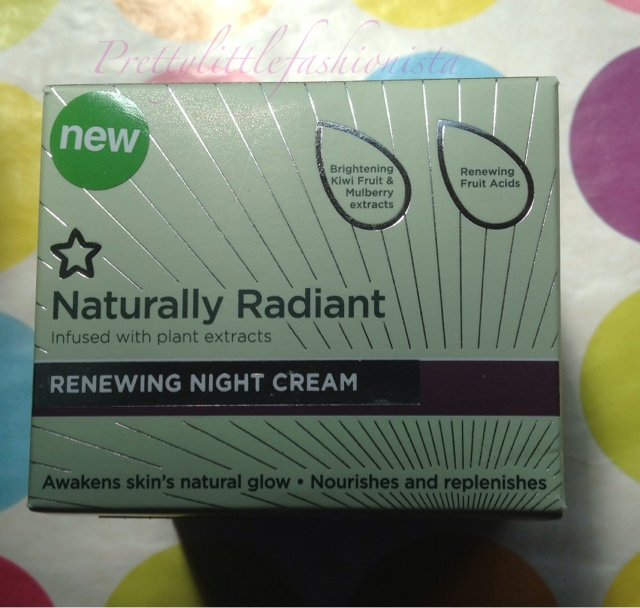 Naturally Radiant  Renewing Night Cream
