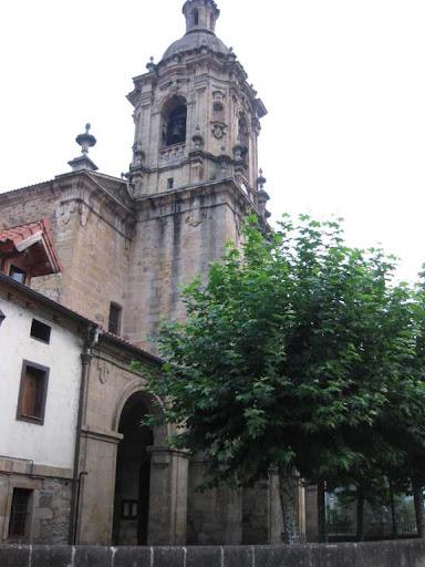 De kerk van Eskoriatza
