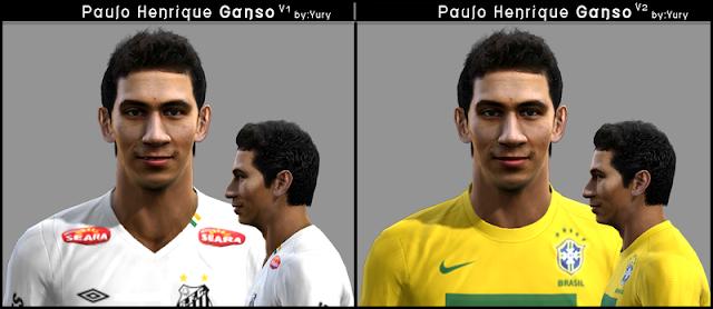 Paulo Henrique Ganso Face - PES 20122