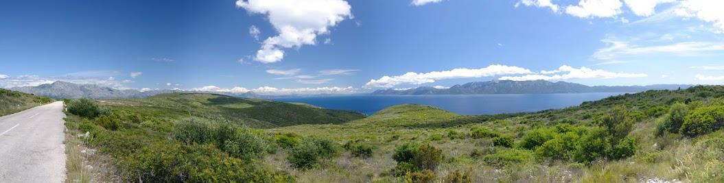 Ausblick im Osten der Insel Hvar