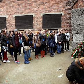 Wycieczka klas drugich do Auschwitz - 5 marca 2014