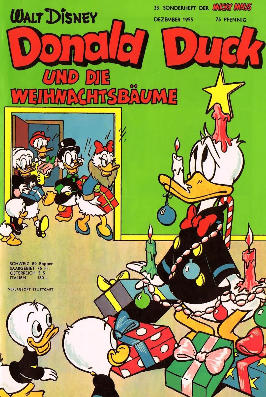 C3 A4ume Sch B6ne Wei Micky Maus Sonderheft 33 Donald Duck Und Weihnachtsbäume Ehapa Verlag Comix Load 1951 Komplett