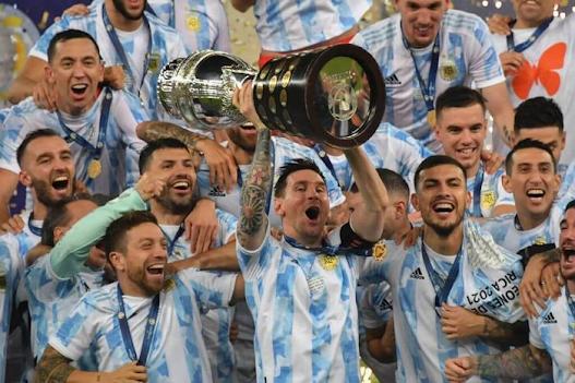 5 Fakta Menarik Kemenangan Argentina ke atas Brazil (Copa America Final 2021)