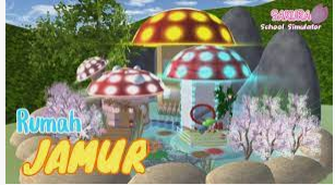 ID Rumah Jamur di Sakura School Simulator Dapatkan Disini