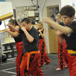 Junior Kickboxing Grading at Silveremere Fight Academy, for Walton Kick Boxing