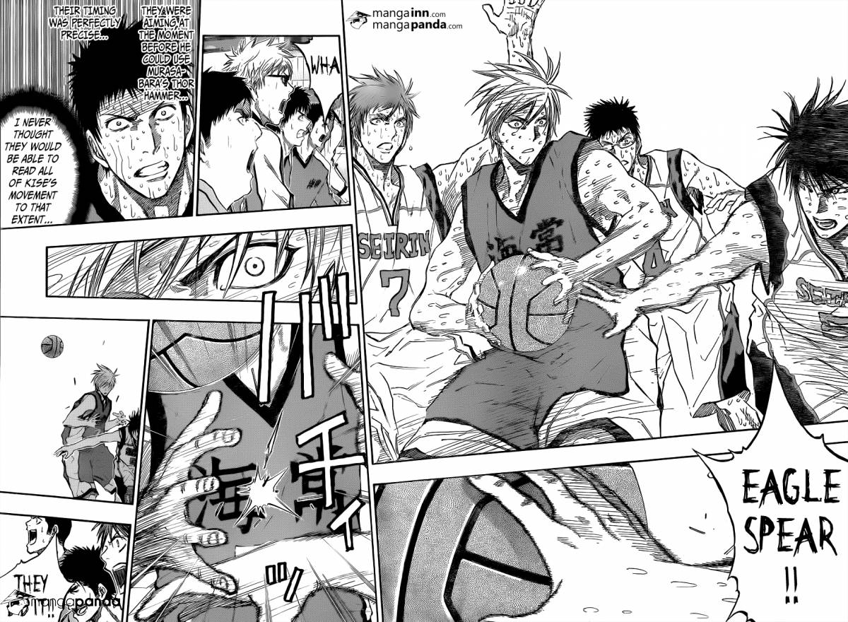 Kuroko no Basket Manga Chapter 201 - Image 14-15