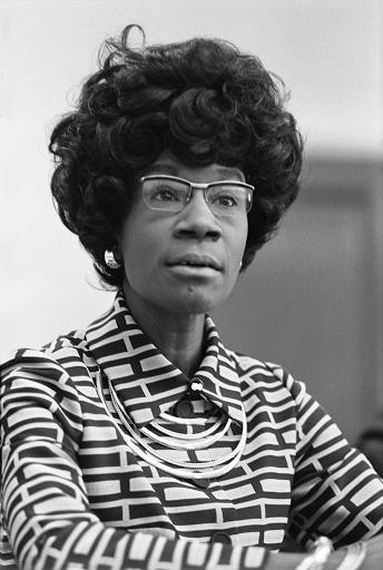 Photo Credits: https://upload.wikimedia.org/wikipedia/commons/thumb/1/10/Shirley_Chisholm.jpg/1200px-Shirley_Chisholm.jpg