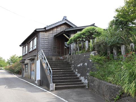 新潟交通電車線 旧月潟駅駅舎 その1