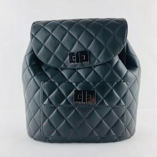 *SALE* Designinverso Black  Backpack