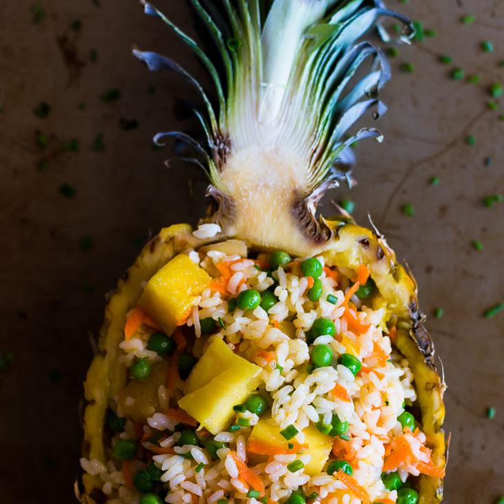 No-Fry Pineapple Rice Salad Recipe