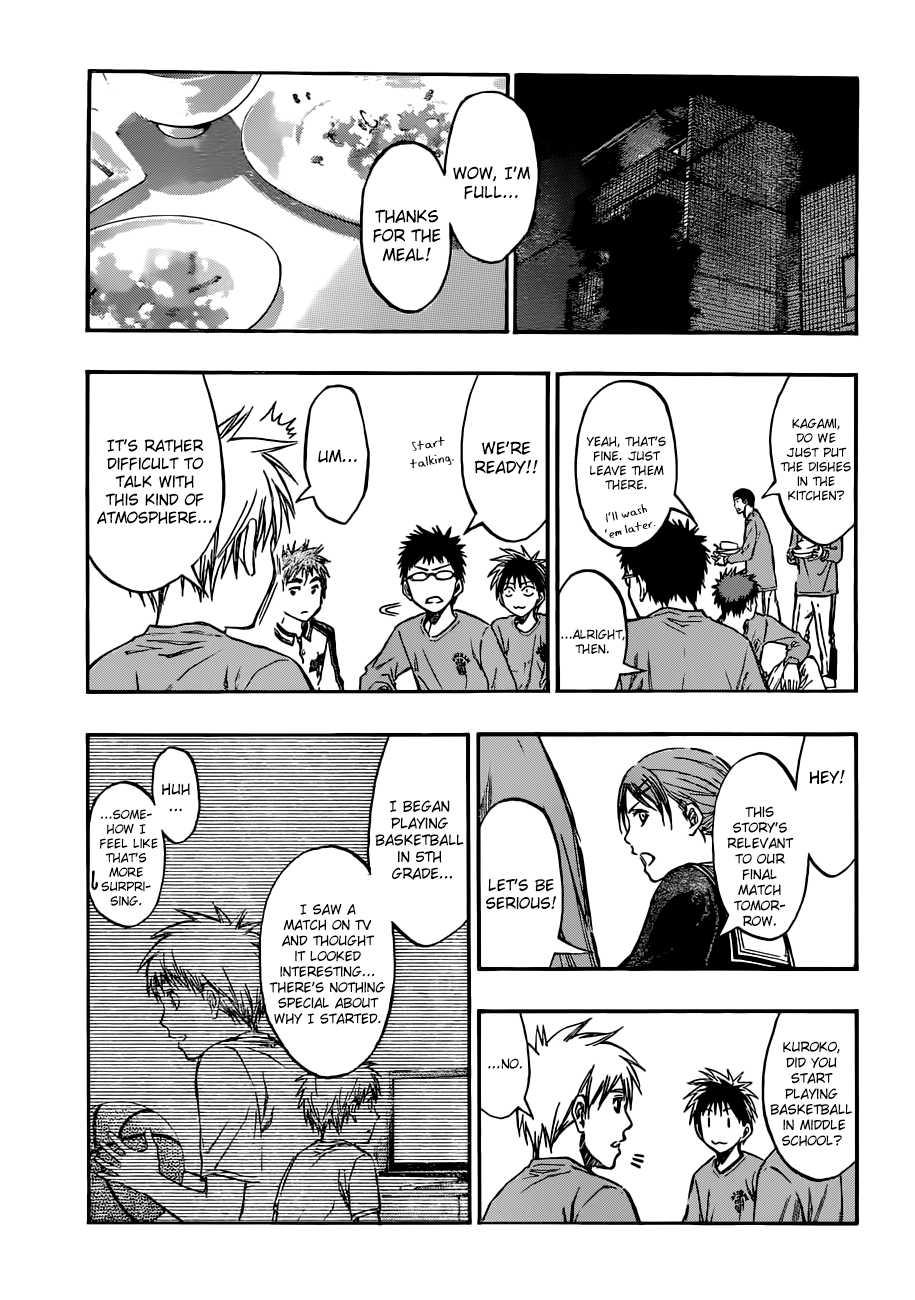 Kuroko no Basket Manga Chapter 204 - Image 03