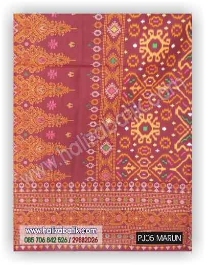 fashion batik modern, motif batik sederhana, contoh baju batik modern