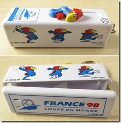 France 98 distributeur de chewing gums