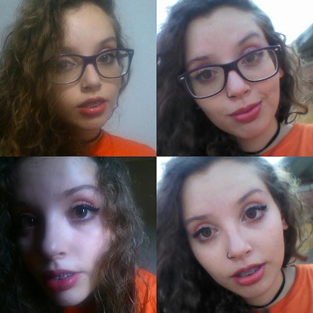 Maquiagem básica para o dia a dia! Blog Insaturada! Fotos do resultado!