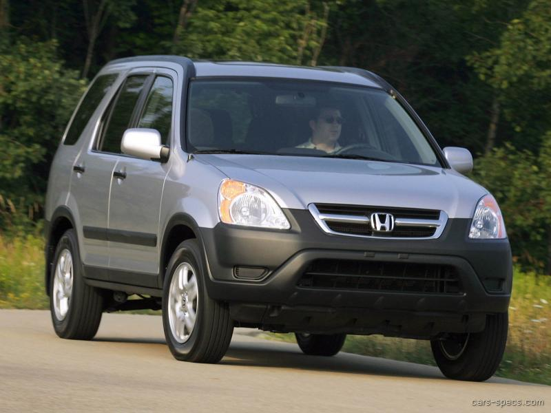 2004 Honda CRV SUV Specifications Pictures Prices