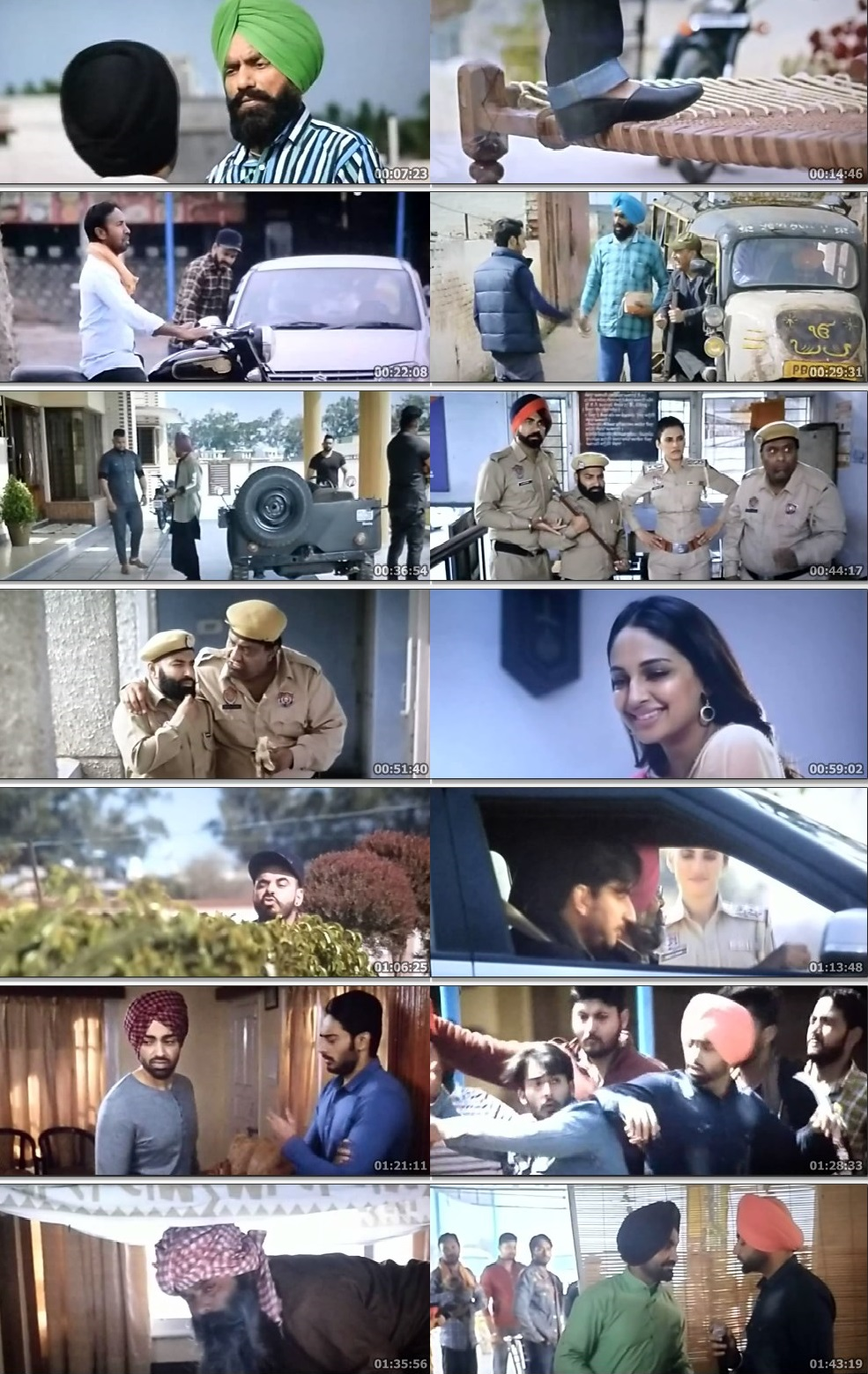 Screen Shot Of Gidarh Singhi 2019 300MB PdvdRip 480P Full Punjabi Movie Watch Online Free Download