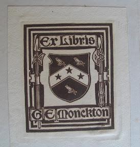 Ex-libris de G.E. Monckton