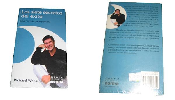 """Libro """"Los 7 Secretos Del Éxito"""" – Richard Webster"""