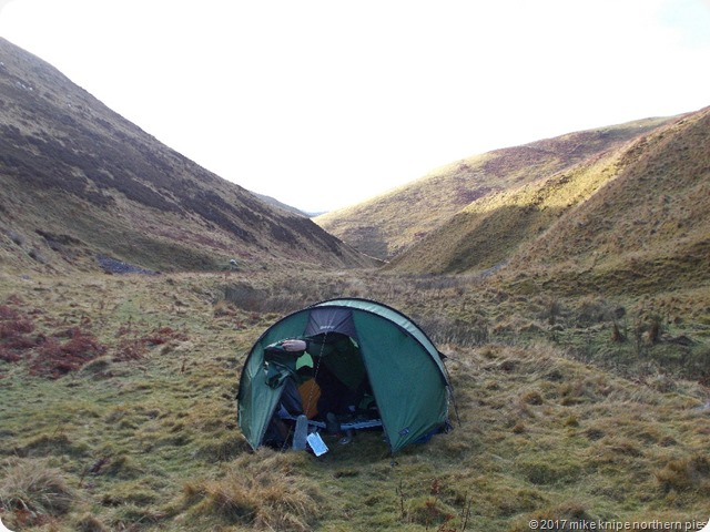 new tent in cheviots 002