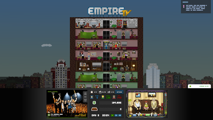 Empire TV Tycoon Apk