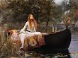 Elf Princess In The Boat