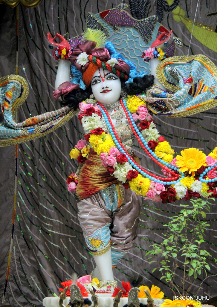 ISKCON Juhu Sringar Deity Darshan on 19th Oct 2016 (32)