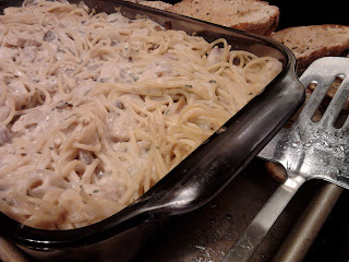 vegetarian chicken tetrazzini