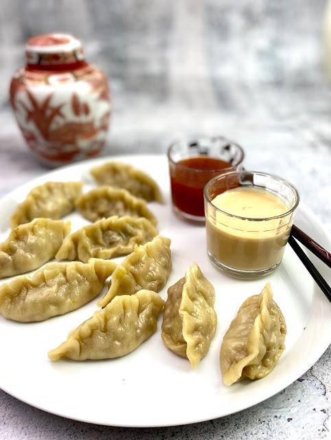 Pot Stickers Dumplings chinesisch