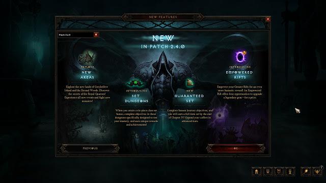 Diablo III: Reaper of Souls - Patch 2.4.0