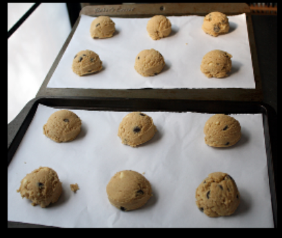 Chocolate Chip cookies for christmas :) The Five Recipes Of Christmas #2