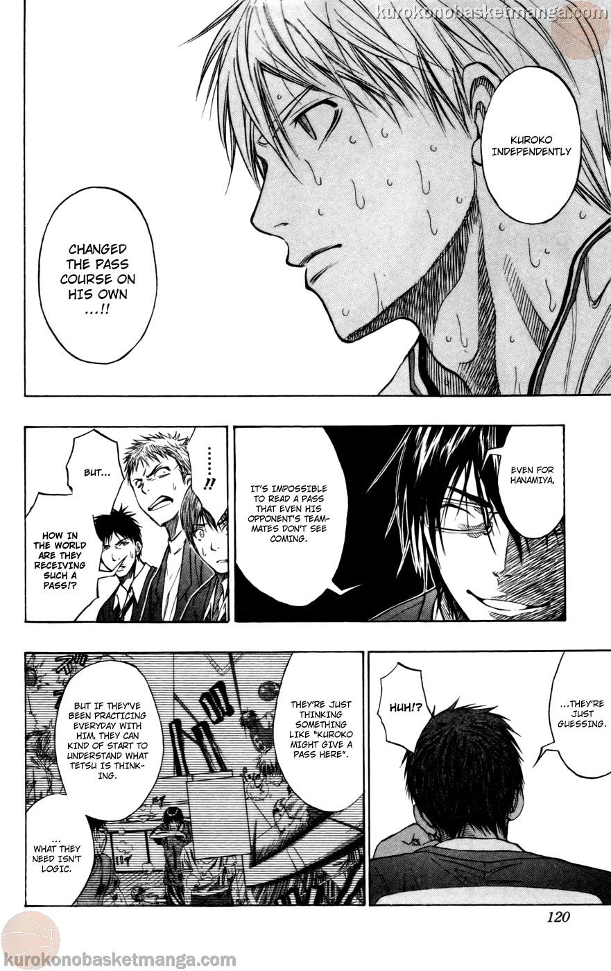 Kuroko no Basket Manga Chapter 105 - Image 12