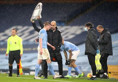 De Bruyne verlaat halve finale FA Cup met blessure