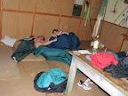 Boj o místo ke spaní