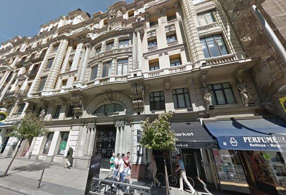 Nuevo Hotel Vincci en Gran Vía número 10 en 2016