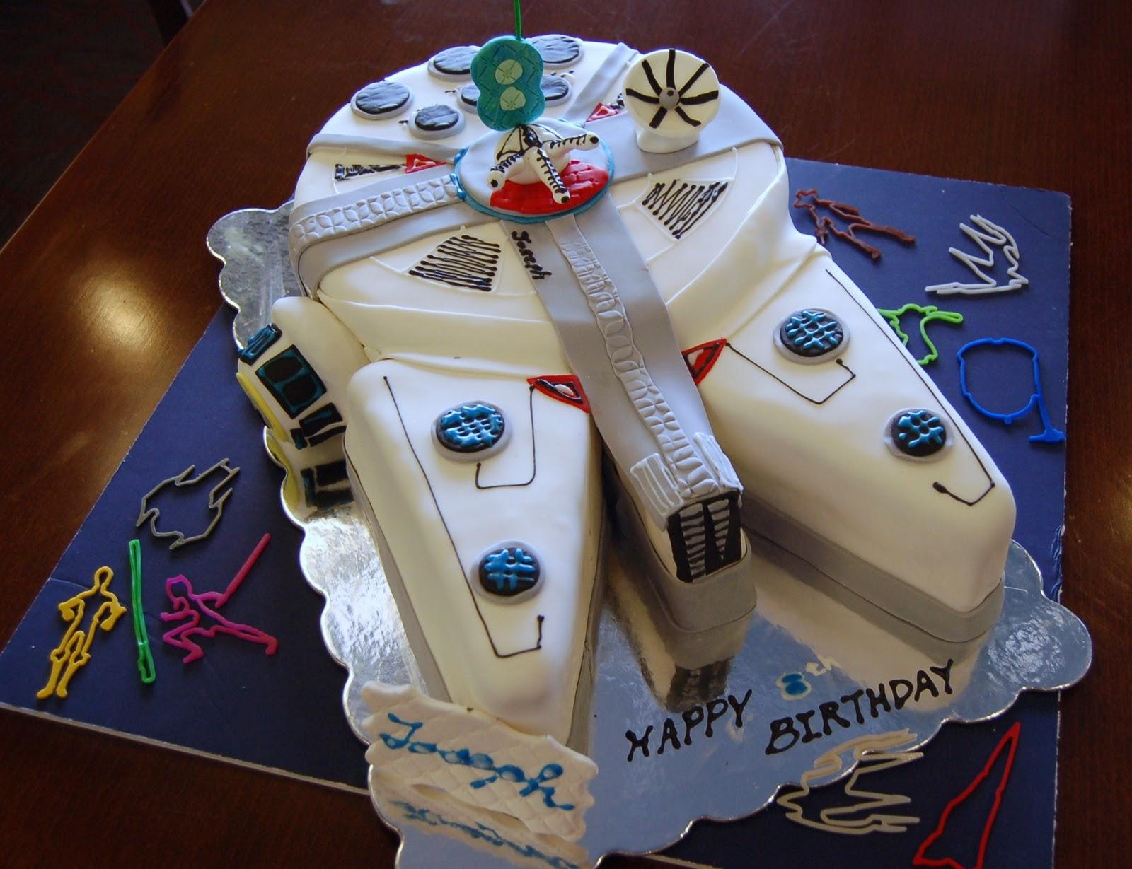 Birthday Cake For Joseph ~ Haven sweets star wars spaceship cake for joseph s th birthday