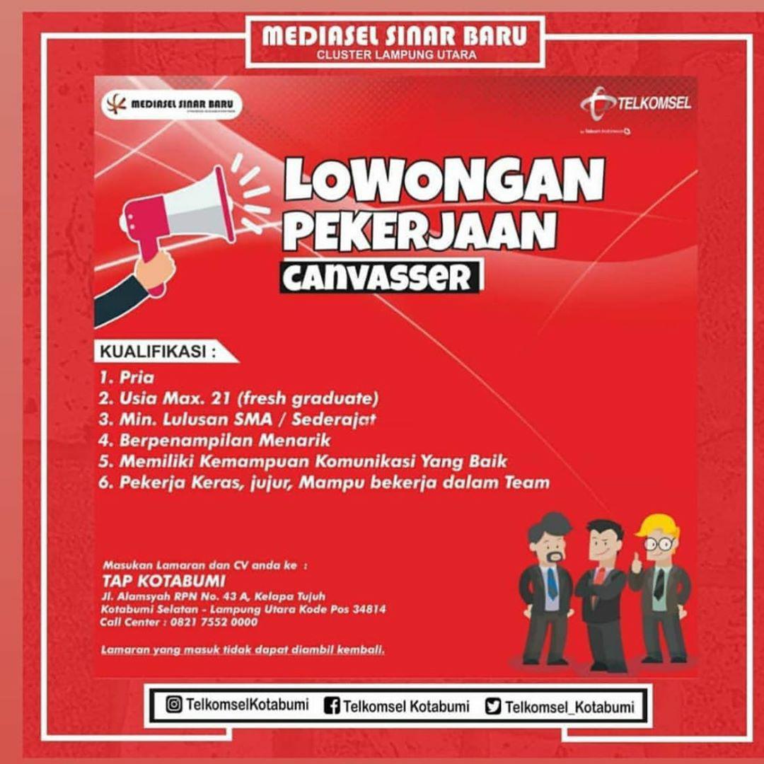 Lowongan Kerja Mediasel Sinar Baru Cluster Lampung Utara September 2020 Karir Bandar Lampung