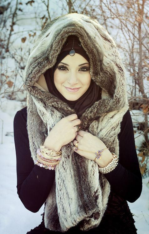 Casual Winter Hijab Styles 2016 Styles 7