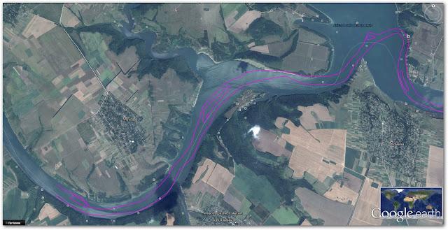 Старе русло річки Дністер: село Колодіївка