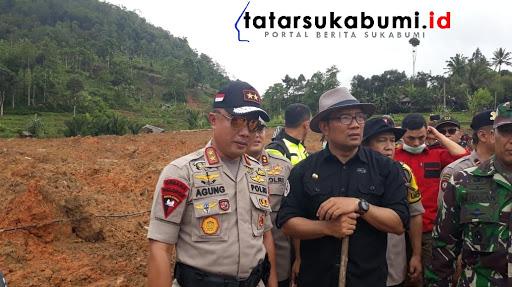 RK Akan Diskusikan Bangun Rumah dan Siapkan Pekerjaan Bagi Korban Longsor Cisolok Sukabumi