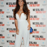 WWW.ENTSIMAGES.COM -    Casey Batchelor    arriving at      We Still Kill The Old Way - private film screening at The Ham Yard Hotel, London September 29th 2014Private screening of forthcoming film about a group of former 1960s gangesters who come out of retirment to take on a group of youths after one of their number is murdered.                                                 Photo Mobis Photos/OIC 0203 174 1069