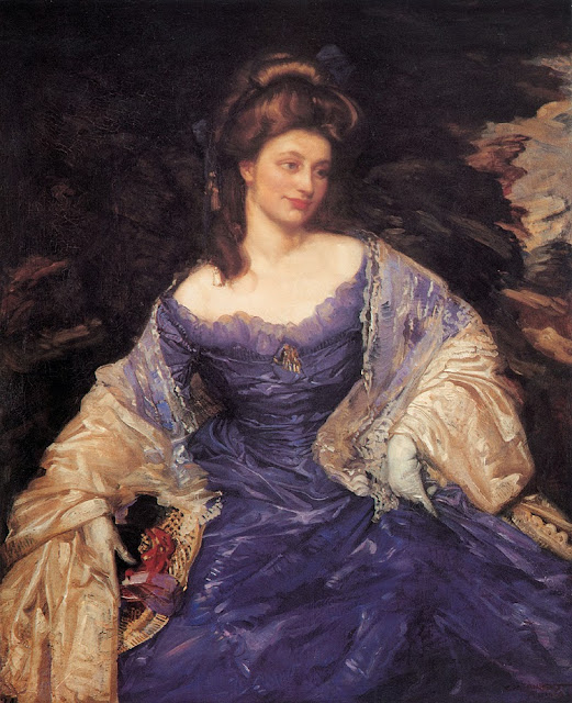George Lambert - Miss Katherine Powell,1909
