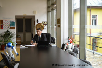 Photo: 3. ROBOresearch meeting - discussions