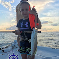 Lily with a white Trout 06-27-2018