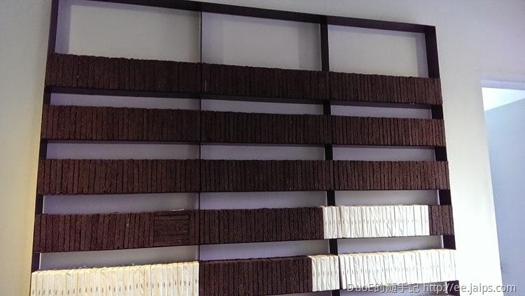 大溪老茶廠-茶磚牆