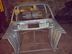 prepping the BMW 2002 Body
