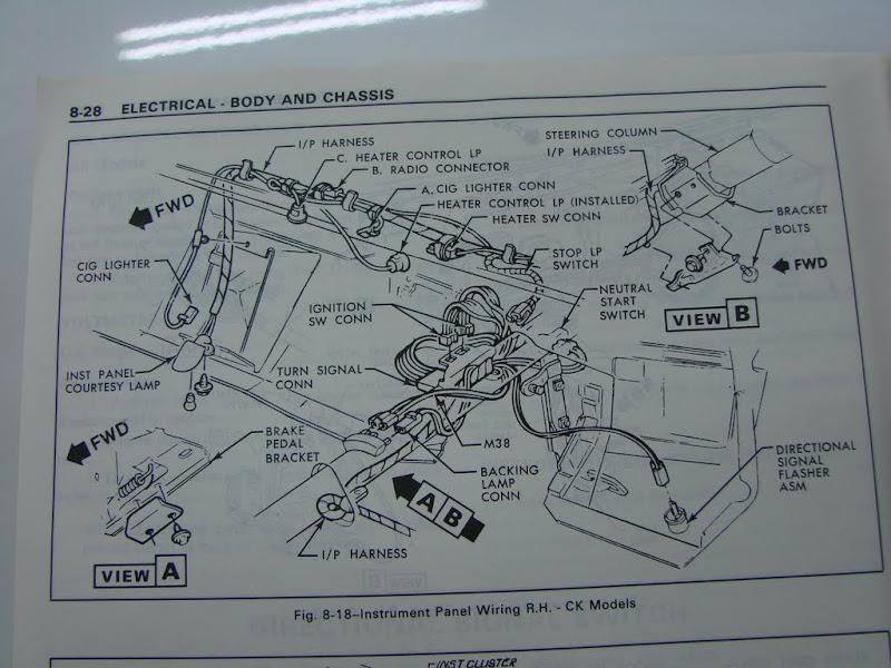 1978 Chevy Truck Wiring Harnes